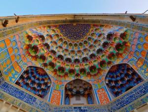 Uzbekistan, Bukhara, Taki-Zargaron, Abdul Aziz Khan Medressa
