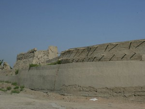 Ancient city walls of Bukhara